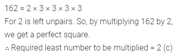ICSE Class 8 Maths Book Solutions Free Download Pdf Chapter 3 Squares and Square Roots Objective Type Questions Q10