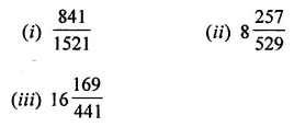 Maths Questions for Class 8 ICSE With Answers Chapter 3 Squares and Square Roots Ex 3.4 Q5
