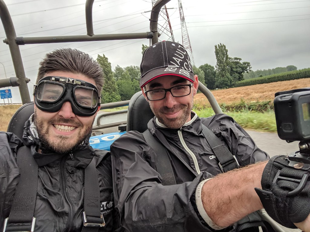 Teambuilding buggy rijden 28/07/2019