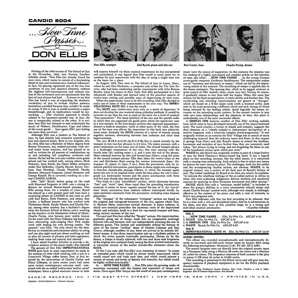 Don Ellis - How Time Passes