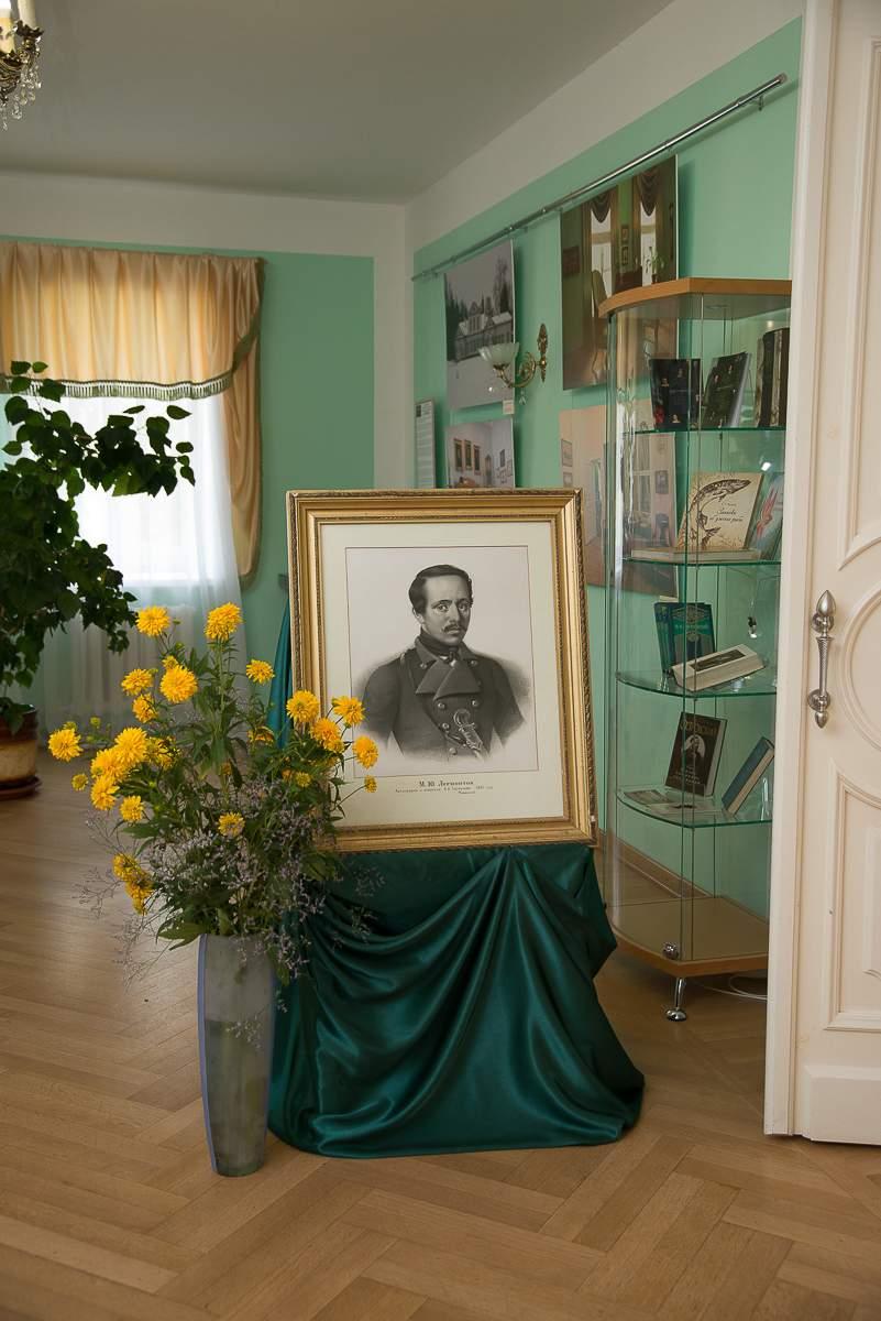 Инсталляция в день памяти М.Ю. Лермонтова