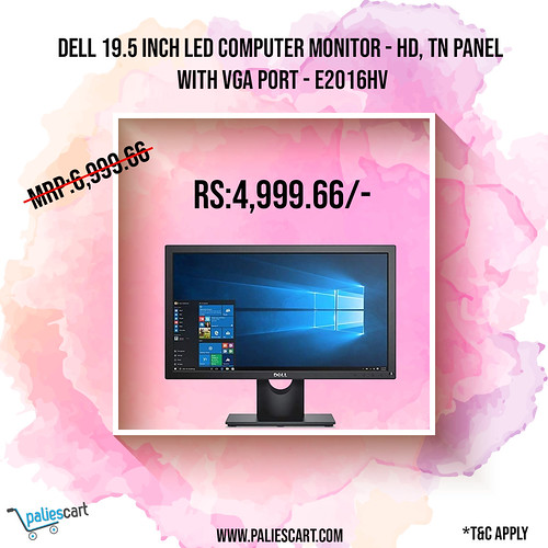 Dell 19.5 inch LED Computer Monitor