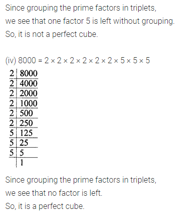 ML Aggarwal Class 8 Solutions Chapter 4 Cubes and Cube Roots Ex 4.1 Q1.2