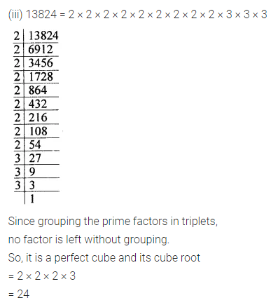 ICSE Class 8 Maths Book Solutions Free Download Pdf Chapter 4 Cubes and Cube Roots Ex 4.1 Q2.2
