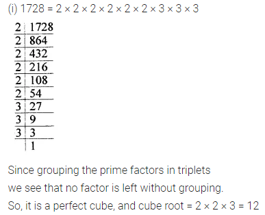 APC Maths Class 8 Solutions Chapter 4 Cubes and Cube Roots Ex 4.1 Q2