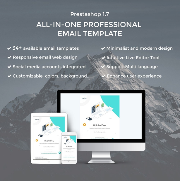 concac email temaplate- designed and developed to fit any of your business goals