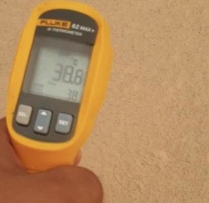 5257 Heat Blocking Coating on the Pathways in Mina 04