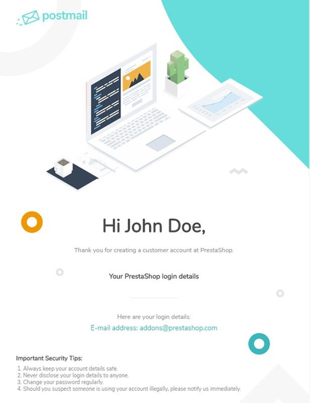 All-in-one Professional Email Template
