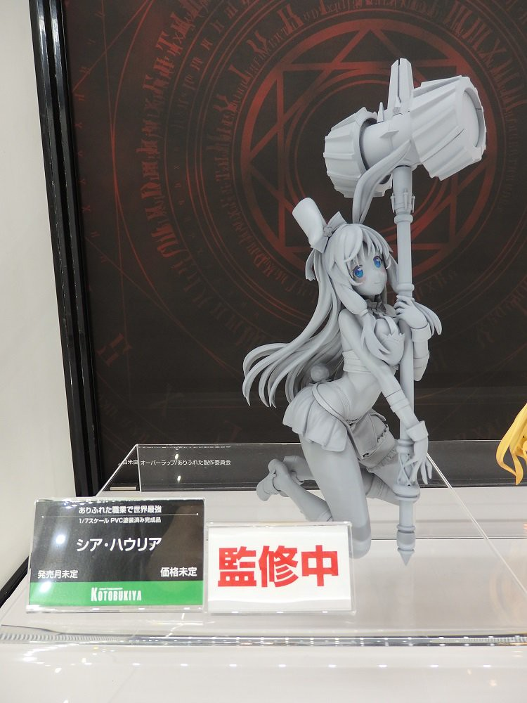 【WF2019夏】壽屋(KOTOBUKIYA)骨裝機娘、女神裝置、ARTFX J ...等大量新作原型公開!