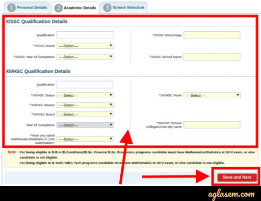 NMIMS NPAT 2020 Application Form