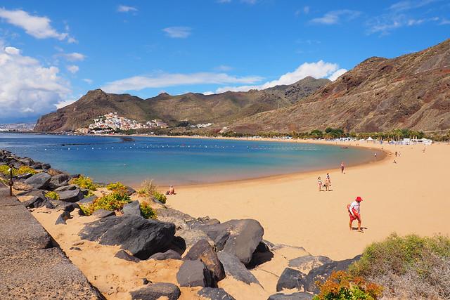 Anaga, Playa de las Teresitas, Tenerife