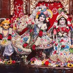 ISKCON Kolkata Deity Darshan 29 July 2019