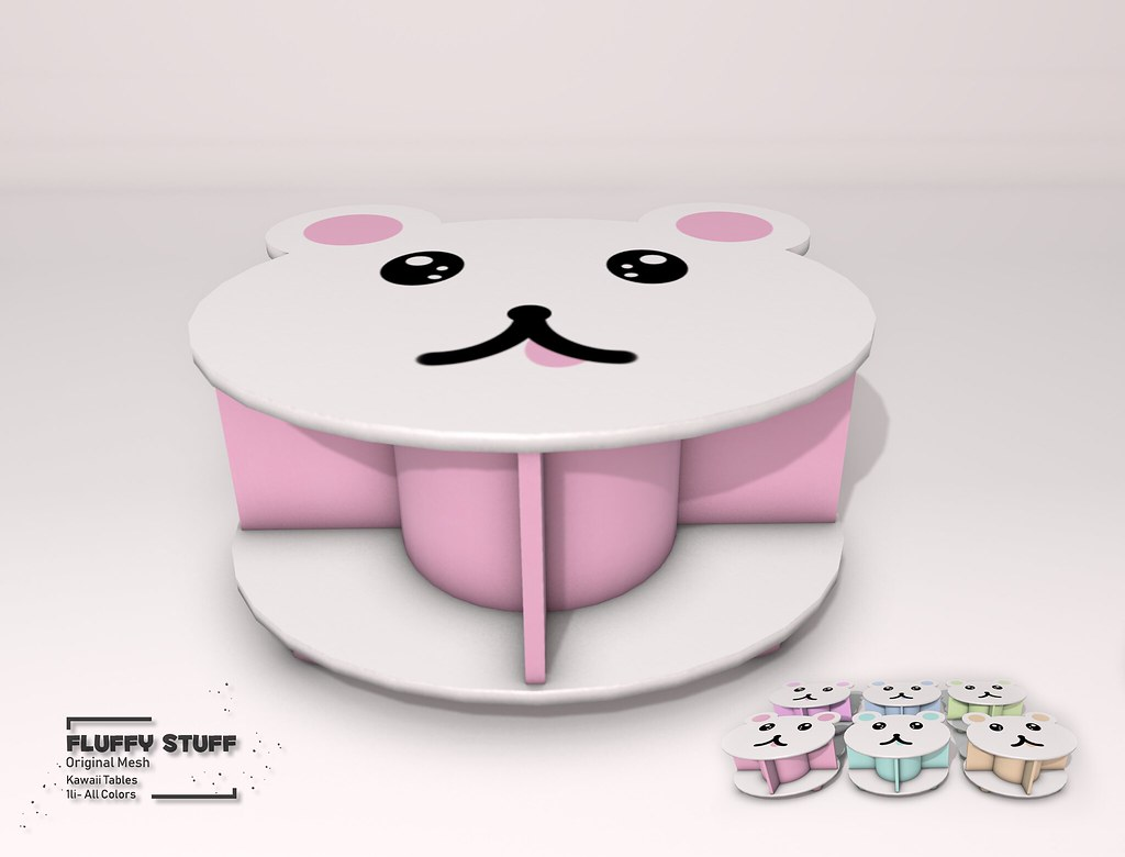 ::Fluffy Stuff::Kawaii Tables