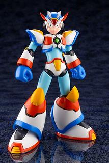 壽屋《洛克人X》「艾克斯 極限裝甲」1/12比例 組裝模型作品!ロックマンX マックスアーマー