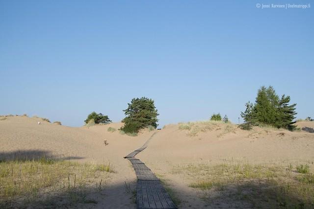 Yyterin hietikolla