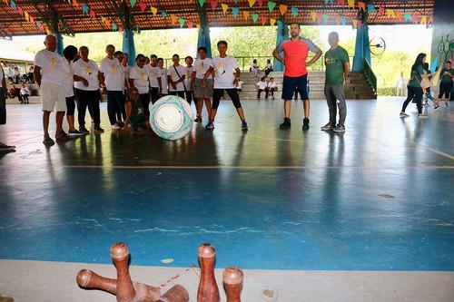 29.07.19. Prefeitura de Manaus promove a 8˚ edição dos Jogos Internos do Parque Municipal do Idoso (Jipi)