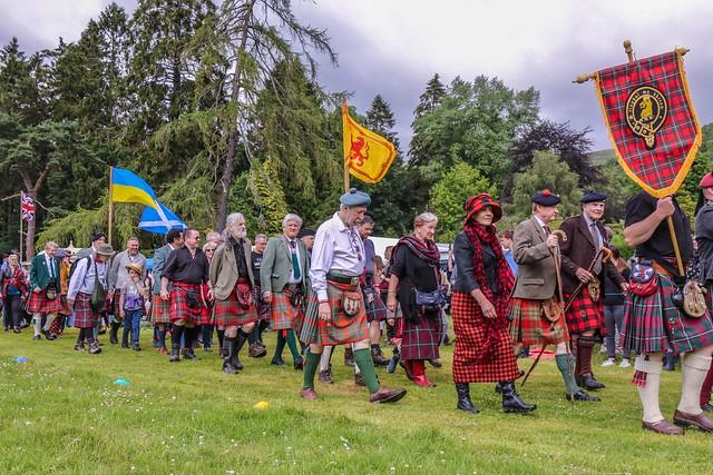 Games Parade - Clan MacGregor