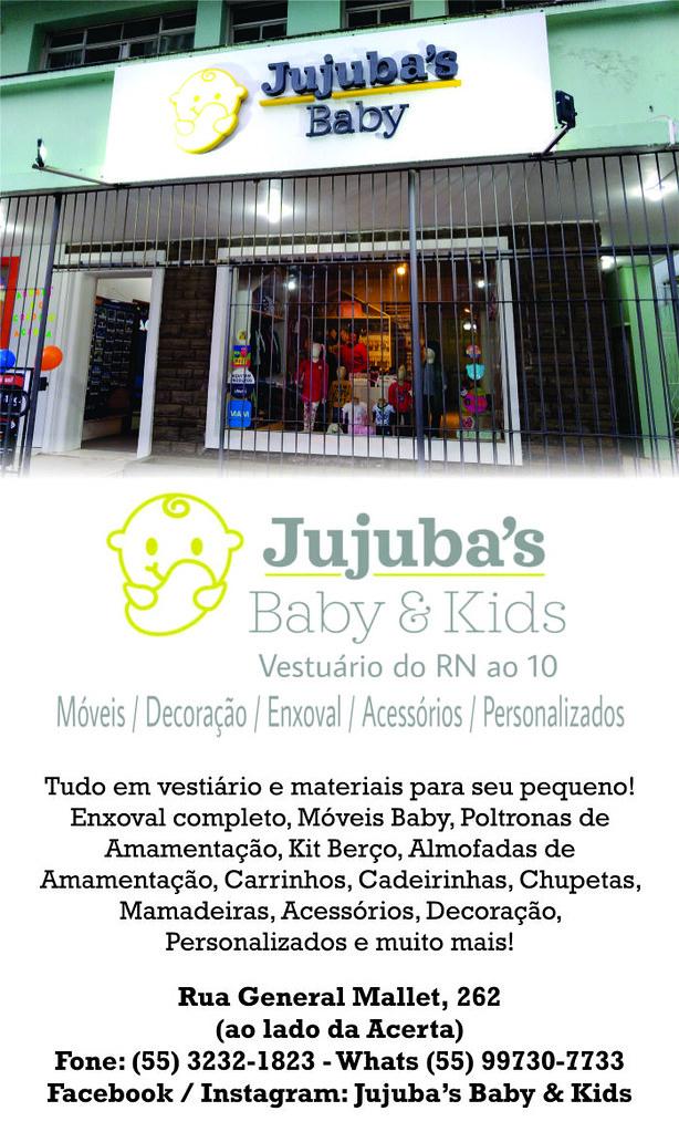 Venha conhecer a Jujuba's Baby & Kids, tudo para seu pequeno em São Gabriel!