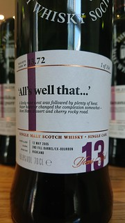 SMWS 13.72 - 'All's well that...'
