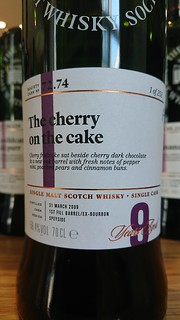 SMWS 72.74 - The cherry on the cake