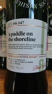 SMWS 66.147 - A paddle on the shoreline