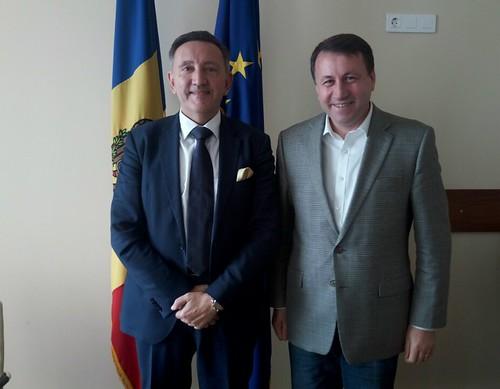 29.07.2019 Întrevederea Președintelui Comisiei economiei, buget și finanțe, Igor Munteanu cu Președintele Asociației Businessului European (EBA), Karoly Szalai