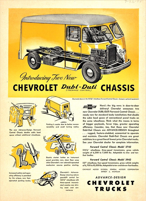 1948 Chevrolet Dubl-Duti Forward Control Chassis