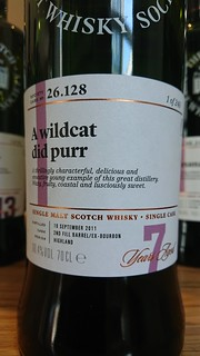 SMWS 26.128 - A wildcat did purr