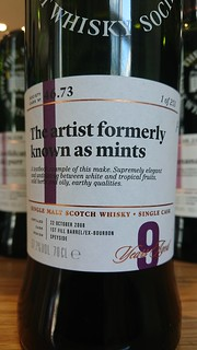 SMWS 46.73 - The artist formerly known as mints
