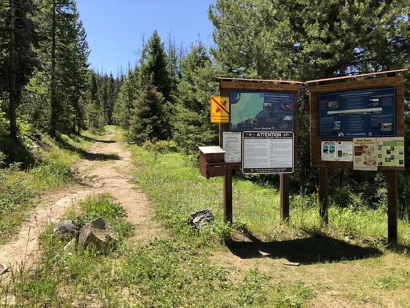 Johnson Peak Trailhead