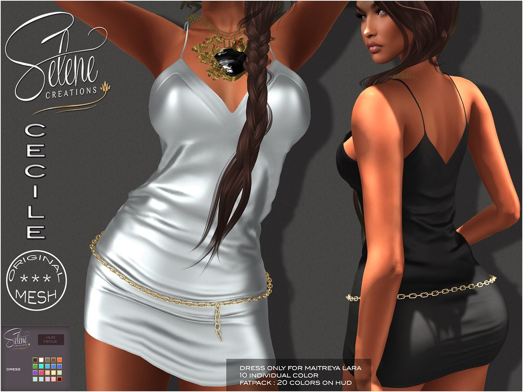 [Selene Creations] Cecile @Exclusive at The Liaison Collaborative - TeleportHub.com Live!