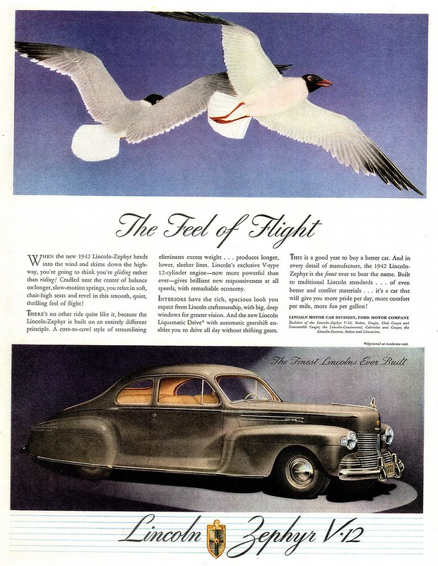 1942 Lincoln-Zephyr Club Coupe