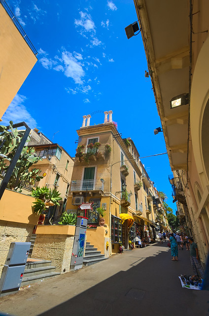 Taormina, Sicilia, Italia - Corso Umberto
