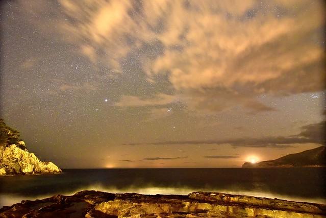 De noche en Sant Elm. Mallorca