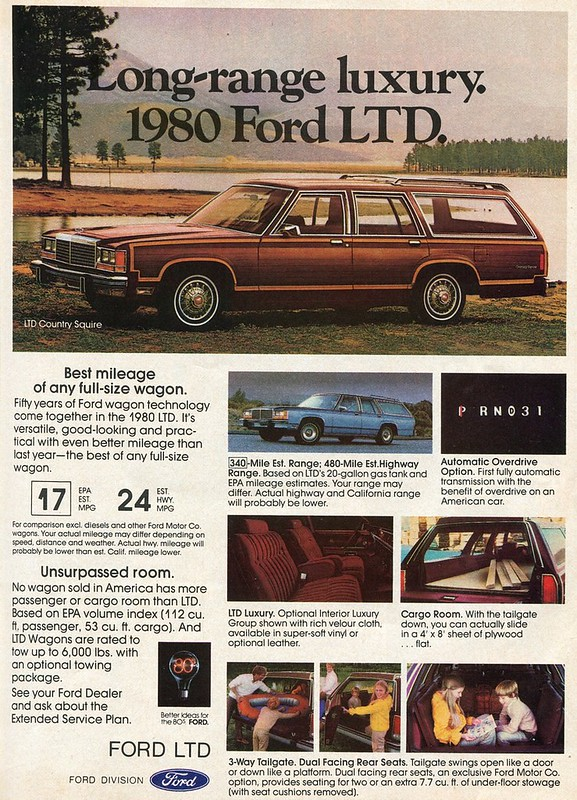 1980 Ford LTD Country Squire