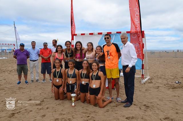 Torneo de Balonmano Playa Puerto del Carmen 2019