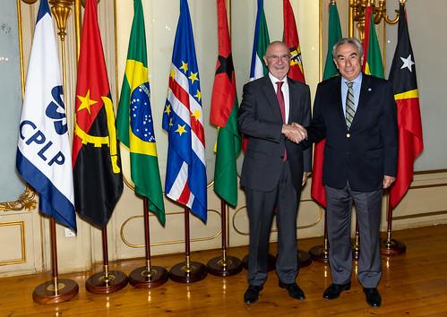 19.07. Secretário Executivo recebe cartas credenciais do Embaixador da Argentina