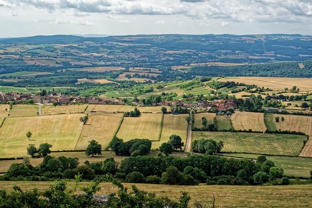 La campagne de Bourgogne