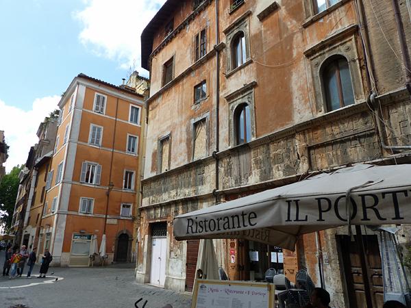 vieille façade du ghetto