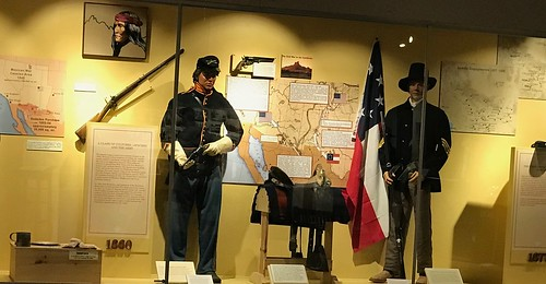 Fort Huachuca Musuem Exhibit. From History Comes Alive in Cochise County, Arizona