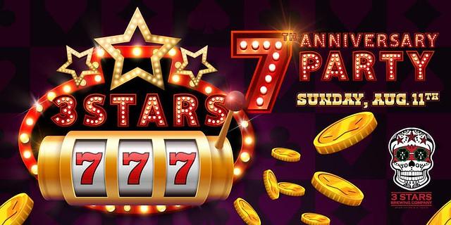 3 Stars 7th Anniversary