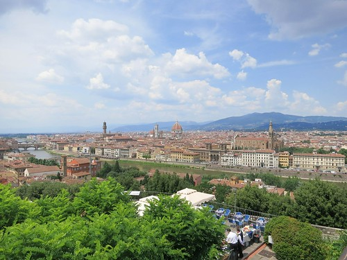 View from the Piazzale Michelangelo. From The Best Free Attractions To Visit In Florence