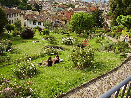 Rose Garden. From The Best Free Attractions To Visit In Florence