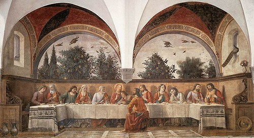 Ghirlandaio's Last Supper, at the Convent of Ognissanti. From The Best Free Attractions To Visit In Florence
