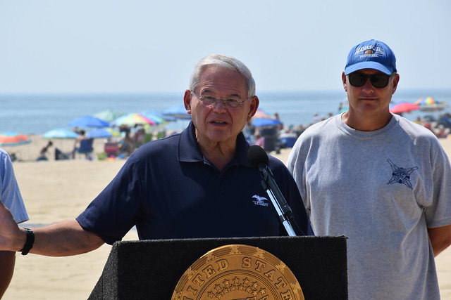 Menendez Urges Aggressive Action to Protect Beachgoers from Dangers of Flying Beach Umbrellas