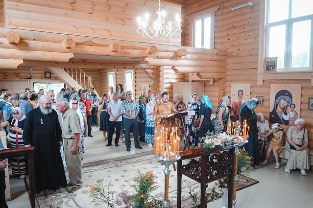 28 июля 2019 г. Престольный праздник князь-Владимирского храма пос. Щеглово