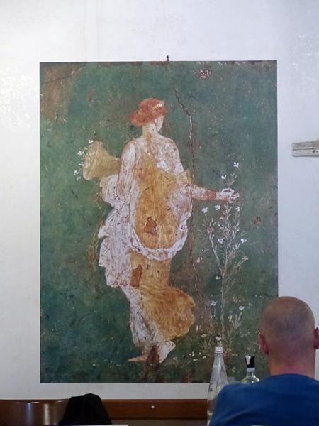 morceau de fresque