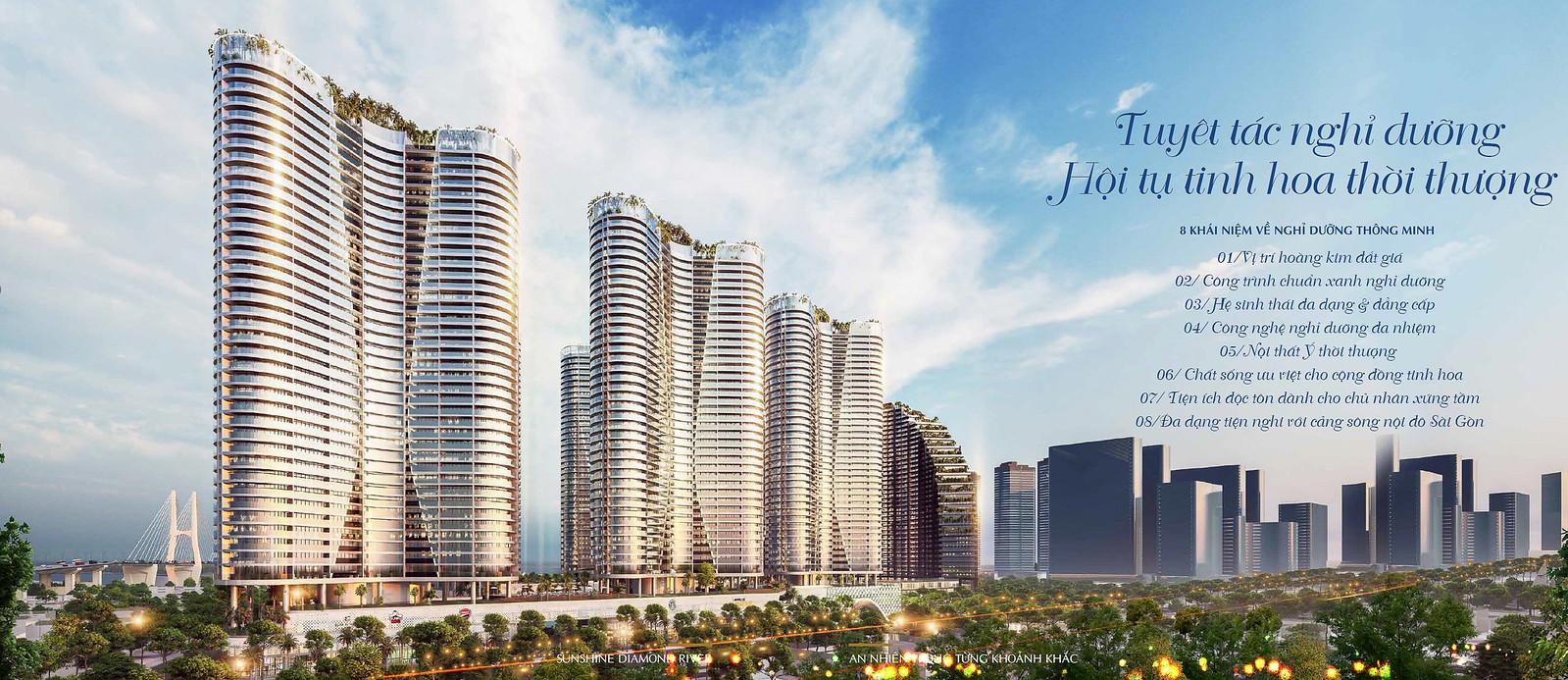 """Sunshine Diamond River quận 7 – """"Resort"""" triệu đô đẳng cấp nhất bờ Nam Sài Gòn 1"""