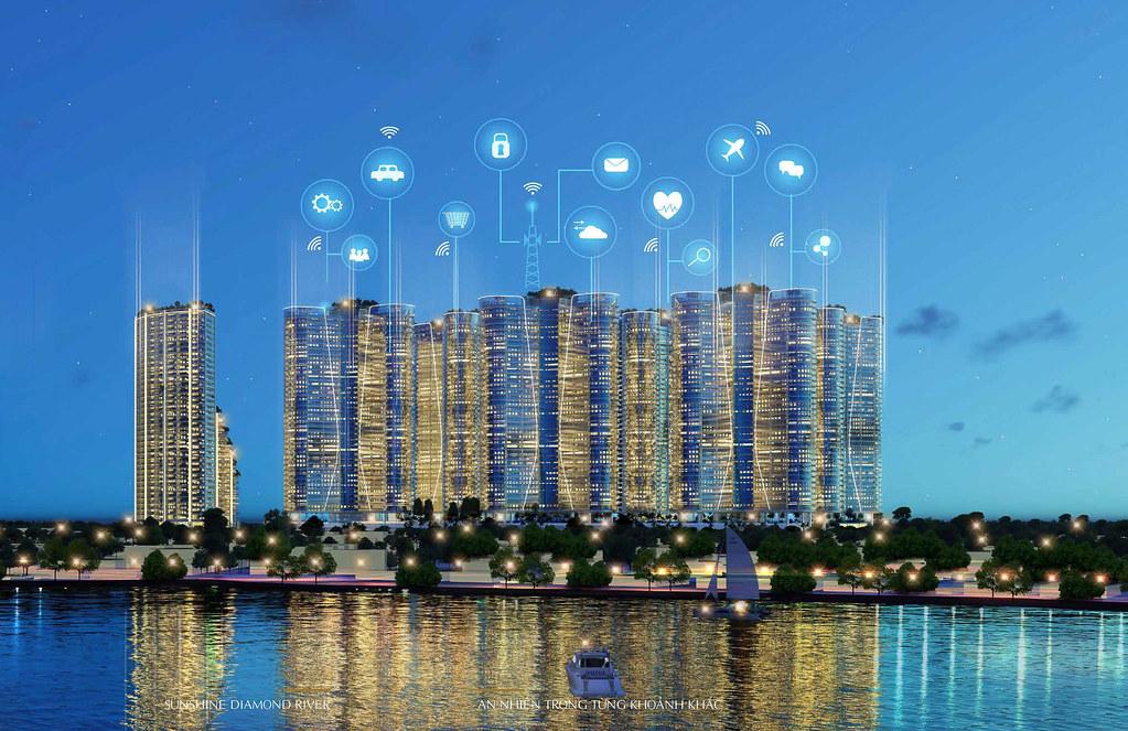 """Sunshine Diamond River quận 7 – """"Resort"""" triệu đô đẳng cấp nhất bờ Nam Sài Gòn 3"""