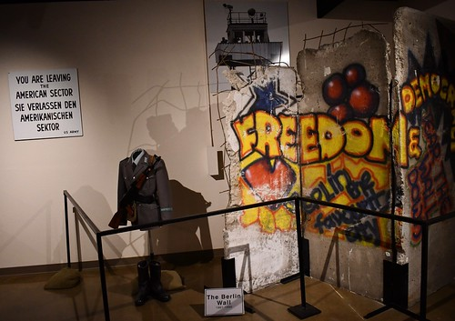 Fort Huachuca Museum Section of the Berlin Wall. From History Comes Alive in Cochise County, Arizona